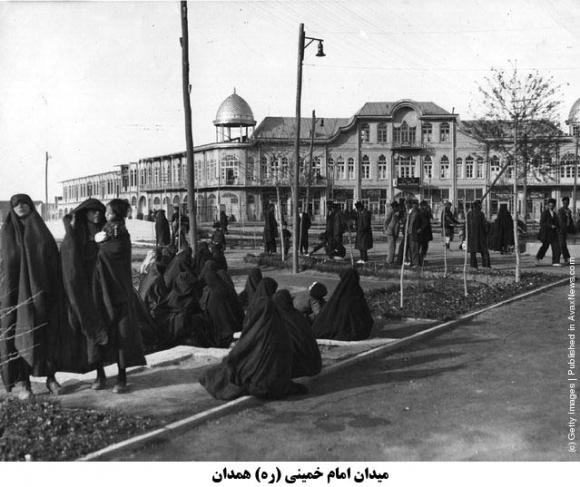 دورمیدان امام خمینی (ره) همدان در قدیم
