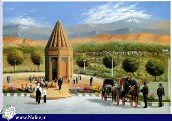 آرامگاه حيقوق نبي در شهر طلای سبز ایران تویسرکان