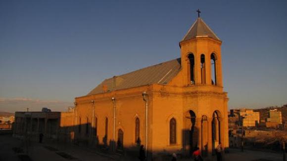 کلیسای گریگوری استپانوس در نزدیک میدان اصلی همدان