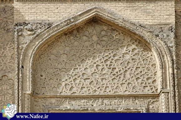 یکی از شاهکارهای معماری و گچبری بعد از اسلام در همدان است