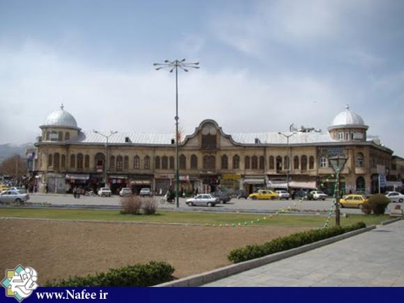 میدان امام خمینی (ره)همدان تنها میدان ایران که شش خیابان به آن منتهی می شود