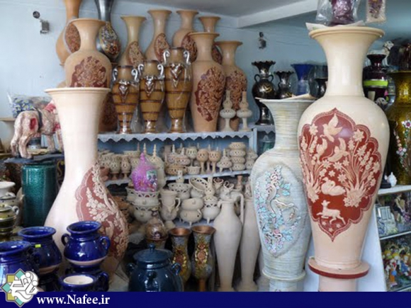ظروف سفالی لالجین - شهرستان بهار