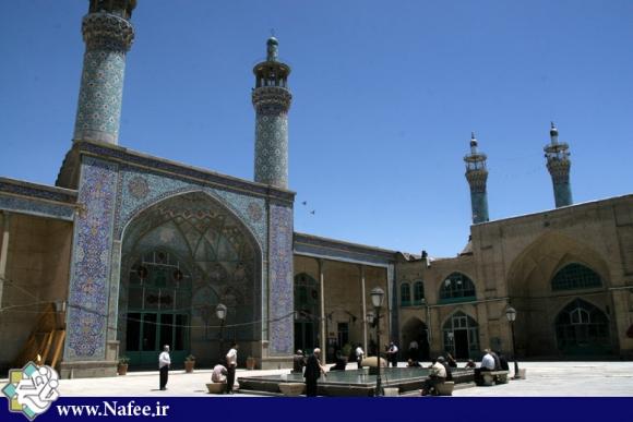 مسجدجامع در خیابان اکباتان همدان