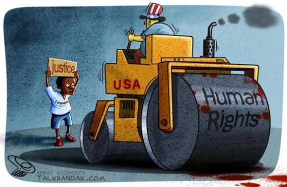 حقوق بشر آمریکایی برای سیاهپوستان