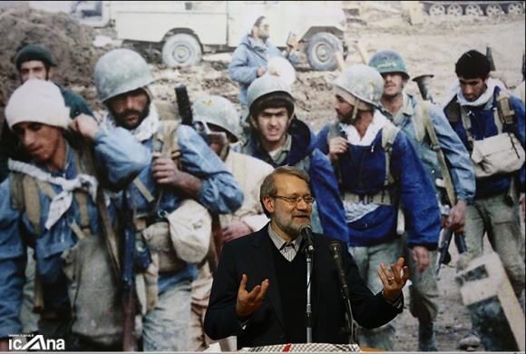دکتر لاریجانی در یادواره شهدای لالهجین