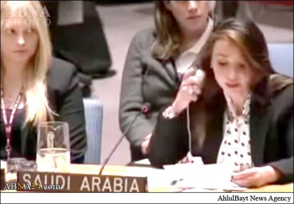 نماینده بدون حجاب عربستان در سازمان ملل + عکس