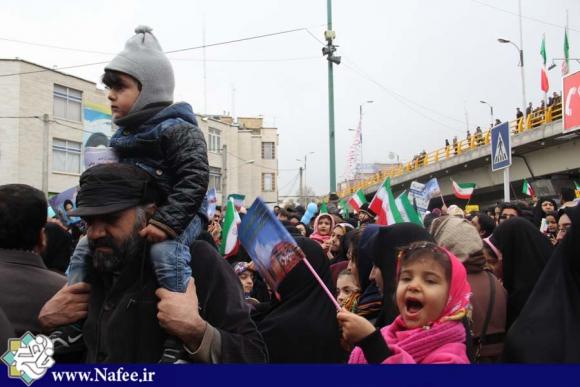 ضربه ملت برای عزت /تجلی حضور پرشور مردم همدان در راهپیمایی 22بهمن /عکس از محمدکشوری سعادت