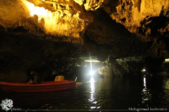 غارعلیصدر  بی نظیرترین و بزرگترین غار آبی جهان را در همدان حتما ببینیم
