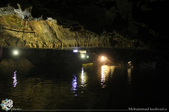 غارعلیصدر  بی نظیرترین غار آبی جهان را در همدان حتما ببینیم