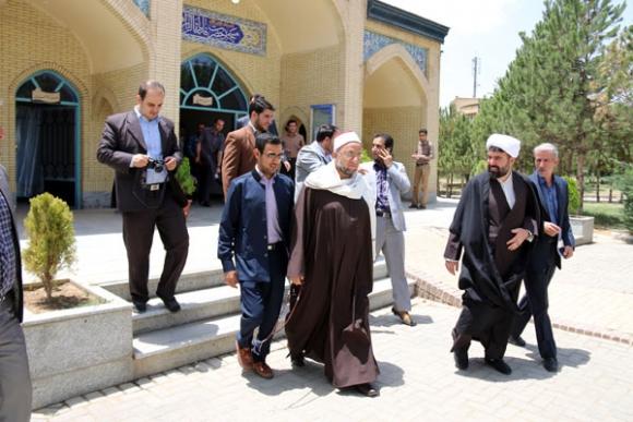 محفل انس با قرآن با حضور قاری مصری در دانشگاه آزاد اسلامی همدان
