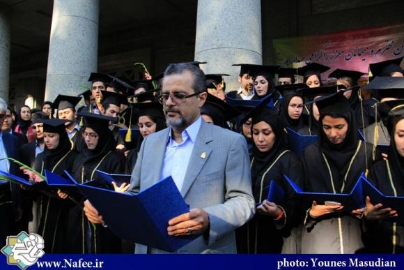 بزرگداشت روز بوعلی سینا و فارغ التحصیلی دانشجویان رشته پزشکی/ عکس: یونس مسعودیان