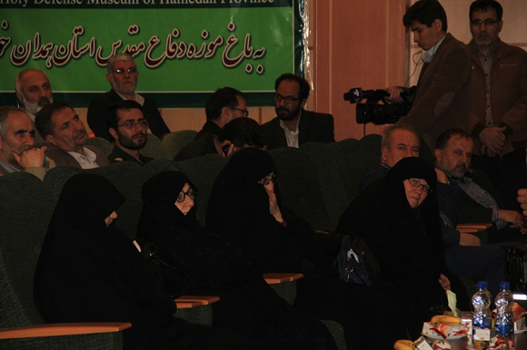 آیین نکوداشت شهدای شاخص استان همدان