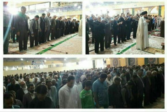 اقامه نماز عید فطر در رزن