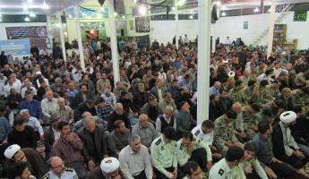 مراسم سالگرد ارتحال امام در کبودراهنگ