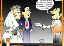ارسال فیلم عروسی برای پخش در ماهواره/کاریکاتور