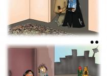 بی حجابی با یک خرید!/کاریکاتور