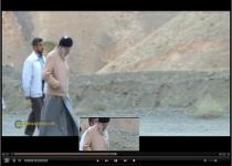 کوهپیمایی صبحگاهی رهبر انقلاب در ارتفاعات تهران+فیلم
