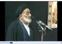 روضهخوانی مرحوم کوثری در اولین محرم پس از رحلت امام خمینی رحمهالله