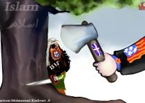 مواضع آمریکا وداعش در قبال اسلام