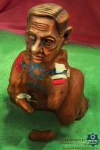 مجسمه نتانیاهو درهمدان ساخته شد!