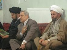 مراسم ارتحال آیت الله محمدی گیلانی در تویسرکان برگزارشد