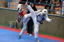 آغاز مسابقات تکواندو و کاراته دانشجویان دختر دانشگاه آزاد در همدان