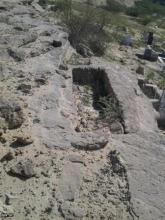 قبرستان جنها در روستای تیس