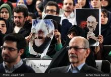 تکرار حوادث سال 88 در روز دانشجو بعد از 5 سال/ادامه گستاخی ها به ساحت مقدس امام(ره)/+تصاویر