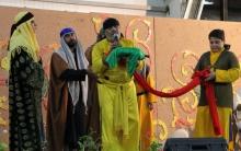 اجرای مراسم تعزیه خوانی سه روز پایانی ماه صفر در ملایر