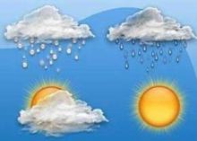 هوای امروز استان همدان نیم ابری و احتمال بارش پراکنده پیش بینی می شود
