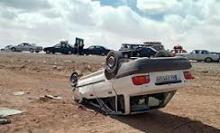 صدای تلفن همراه علت واژگونی خودروی پرایددر همدان اعلام شد