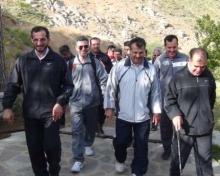 سعود معلمان و نیروهای انتظامی به کوه الوندهمدان