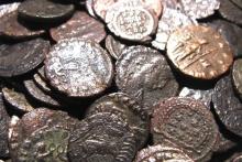 313 سکه مجموعهدار همدانی در معرض دید علاقهمندان قرارگرفت