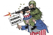 آمریکا بزرگترین ناقض حقوق بشر