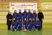 تیم بستکتبال دختران  همدان به مرحله نهایی صعود کرد