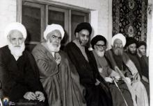 """مردی رزنی از روستای وفس که امام لقب """"سلمان"""" به او داد+تصاویر"""