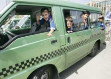 750 تاكسي و ون مختص دانشآموزان همدانی تعیین شده است