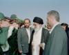 دیدار رهبری با تیم حفاظت در همدان