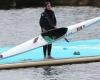 بانوی قایقران همدانی به مسابقات جهانی اعزام شد