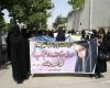 تجمع بانوان ملایری به مناسبت روز عفاف و حجاب