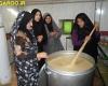 برپایی ضیافت افطاری 1200 نفری در روستای تکه نهاوند + تصاویر