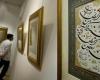 """نمایشگاه آثارخوشنویسی """"حسین پاکبازیان"""" در کبودراهنگ برپاست"""