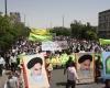 حضور حماسی مردم رزن در روز قدس/گزارش تصویری