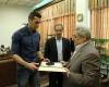 تقدیر استاندار از ملی پوش والیبال همدانی