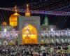 اعزام ایتام تویسرکانی به مشهد مقدس