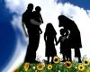 نقش پدر و مادر در باغستان خانواده