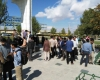 تجمع دانشجويان دانشگاه بوعلي سينا در اعتراض به حكم اعدام آيت الله النمر