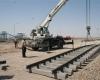 پیشرفت92درصدی زیرسازی راه آهن تهران -همدان