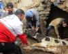 بارندگی یک واحد دامداری را در روستای خنداب تخریب کرد