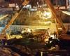 واژگوني بونكر بتن در تقاطع در حال ساخت بعثت همدان